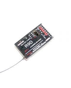 R9D 2.4G 9 Ch Dsss Ricevitore Per Radiolink At9 At10 Trasmettitore Rc
